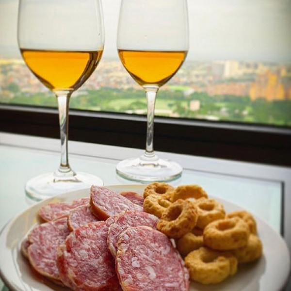 Salame Cacciatore, Taralli & a glass of Spritz!!